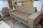 Bur Sofa & Chair Set
