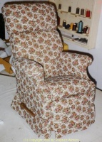 Morgan side chair finished