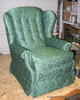 Roth wing chair after
